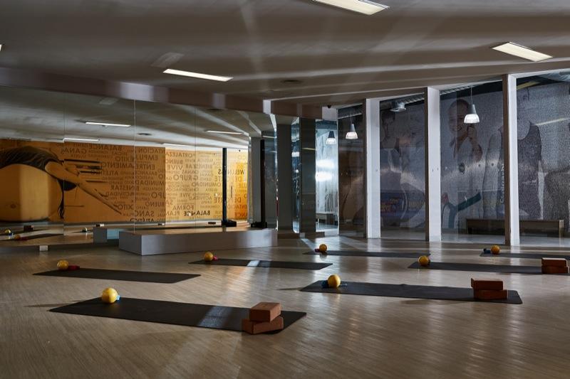 Sportium-Del Valle- Salon-Yoga