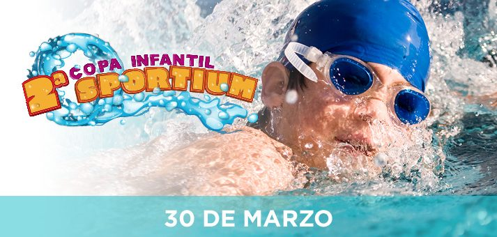 Segunda copa infantil de natación Sportium.
