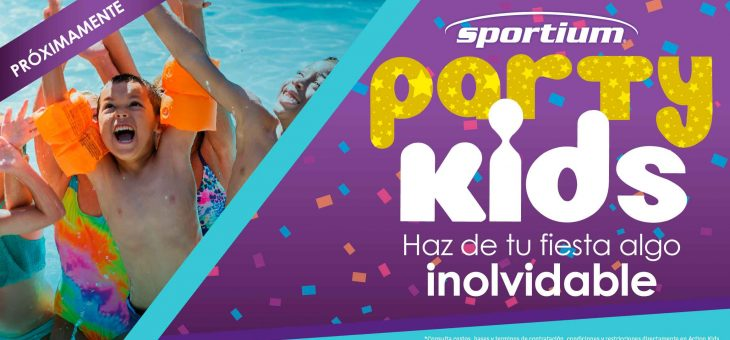 ¡Próximamente Sportium Party kids!
