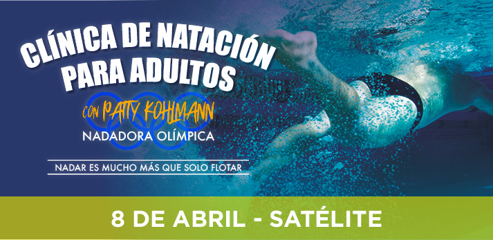 clinica especializada de natacion con patty kohlmann para adultos