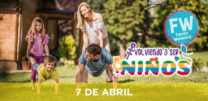 Family Weekend Sportium Volviendo a Ser Ninos