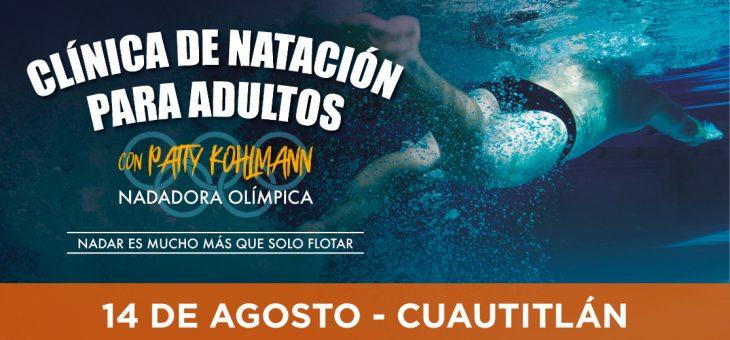 Clínica de natación para adultos con Patty Kohlmann
