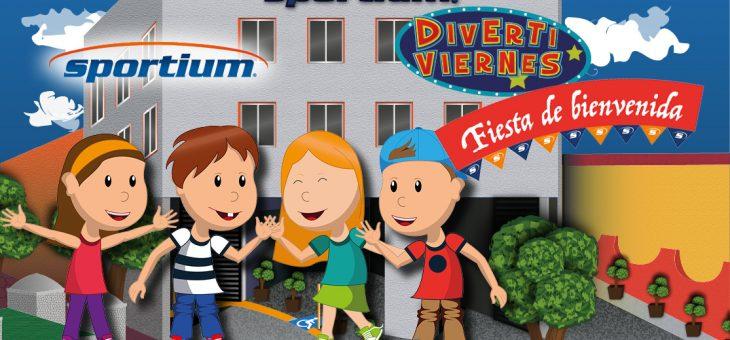 """Divertiviernes """"Fiesta de Bienvenida"""""""