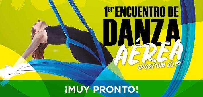 1er Encuentro de Danza Aérea Sportium 2019.