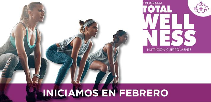 Total Wellness, 8 semanas intensas de nutrición, cuerpo y mente