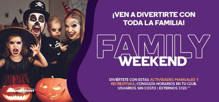 Diviértete en familia con nuestro Family Weekend Sportium