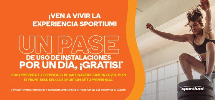 ¡Ven a vivir la experiencia Sportium!