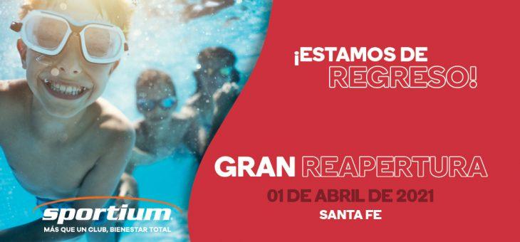 ¡Sportium Santa Fe está de regreso!