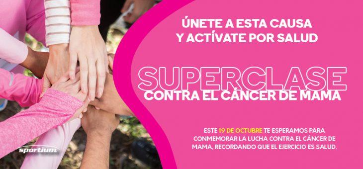 Participa en la lucha contra el cáncer de mama