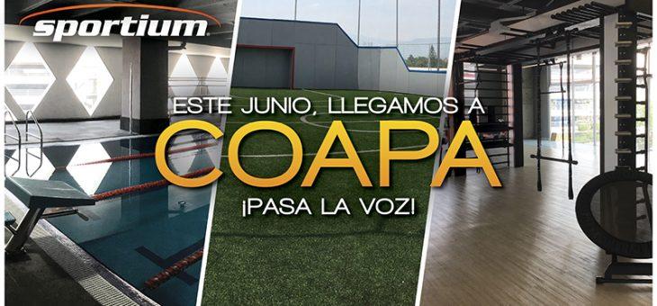 ¡Sportium Coapa abre sus puertas este junio!